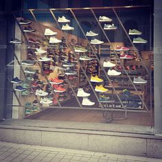Sneaker Display for Stadium Pulse/Stockholm Design: Karin Lundberg