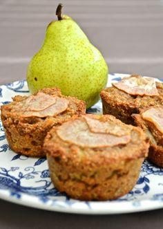www.comocomecami.com - Cupcakes integrales de pera
