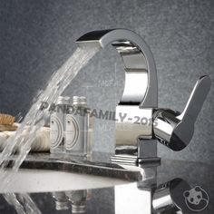 Bathroom Faucet Basin Sink Mixer Tap Chrome Brass Modern Single Handle