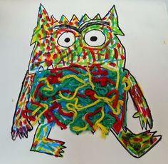 Pintando sonrisas de colores: El monstruo de colores.