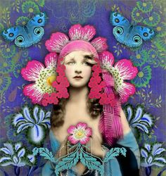 (digital collage by Romany Soup Art)