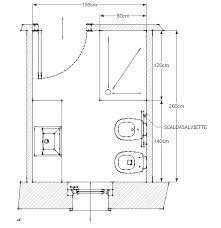 Casa moderna, Roma Italy: Planimetria bagno piccolo  18_HOME & DIY  Pinterest  Bagno piccolo ...