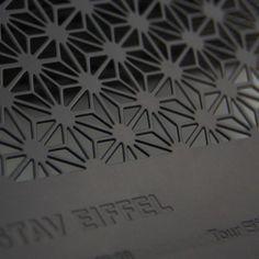 Black Metal Business Cards #metalbusinesscards #blackmetal #diecut #engraving @formink