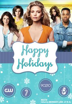 Happy Holidays from 90210!