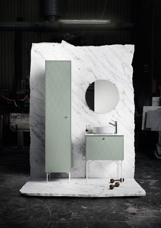 Style and Create — Lovely news from Swedish Superfront who are now launching a bathroom collection, built around IKEA's Metod cabinets