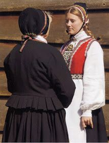Hello all, Today I will cover the last province of Norway, Hordaland. This is one of the great centers of Norwegian folk costume, hav. Folk Costume, Costumes, Traditional Outfits, Norway, Scandinavian, Ruffle Blouse, Embroidery, Children, People