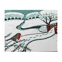 snow lino prints - Google Search