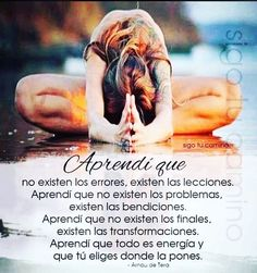 Positive Thoughts, Positive Vibes, Positive Quotes, Wisdom Quotes, Me Quotes, Yoga Mantras, Healing Words, Life Quotes To Live By, Spanish Quotes