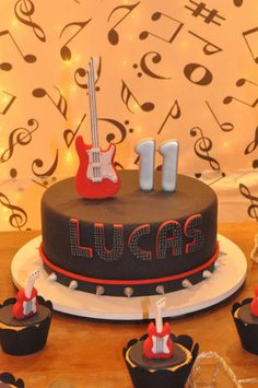 Rock and Roll themed party by Maria Serafina
