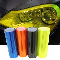 """12 Colors 12""""X40"""" 30CMX100CM Auto Car Light Headlight Taillight Tint styling waterproof Vinyl Film Sticker Free shipping >>> Khotite dopolnitel'nuyu informatsiyu? Nazhmite na izobrazheniye."""