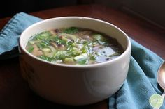 This cold-kicking miso soup is soothing on the throat and warming to the body when cold season strikes.