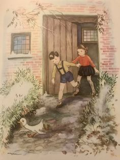Book Illustrations, Children's Book Illustration, Enid Blyton, Childrens Books, Images, Doors, Adventure, Retro, Nice