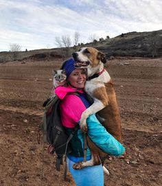 Cynthia Bennett and her boyfriend, who are avid hikers, adopted their dog Henry back in 2014. At first, Bennett was going to pick a golden retriever mix, but suddenly she saw Henry at an adoption event. He was only 3.