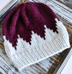 fair isle beanie // gifts for her // knit beanie // fair isle knit // slouchy beanie // fair isle knit hat // gift // timberline beanie - Baby Mütze Stricken Fair Isle Knitting, Baby Knitting, Knitting Patterns, Crochet Patterns, Knit Crochet, Crochet Hats, Presents For Her, Slouchy Beanie, Fur Pom Pom
