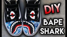 HOW TO: BAPE SHARK TEETH YOUR SHOES ! SUPER EASY STENCIL METHOD | VANS CUSTOM Feels 22 Sneakers...  VV *PURCHASE ANGELUS PAINT PRODUCTS USED IN THIS VIDEO HERE: https://angelusdirect.com?rfsn=568397.8ec9bb0d PURCHASE THIS PAIR...
