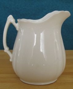 T R Boote English Semi Porcelain Pitcher
