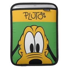 Pluto Sleeves For iPads Personalized Gifts For Kids, Customized Gifts, Custom Gifts, Custom Ipad Case, Ipad Sleeve, Custom Luggage Tags, Standard Business Card Size, Mickey And Friends, Peek A Boos