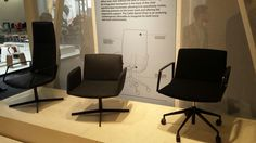 Arper Catifa Sensit chair range. Great for executive or boardroom seating.  launched at Orgatec 14