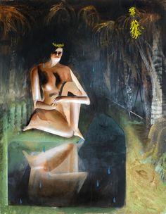 michaelswaney: Julius Hofmann, Bueno, 2012.  90 x 70, acrílico sobre lienzo
