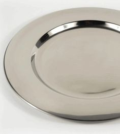 Silver Charger Plates - set of 10 (but might be too small?)