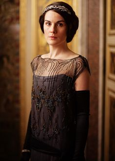 Michelle Dockery as Lady Mary Crawley in Downton Abbey (Season 4)