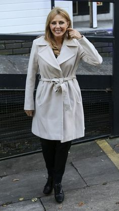 Carol Vorderman Photos Photos - TV presenter Carol Vorderman is pictured arriving at the ITV studios for a guest appearance on 'Loose Women'. - Carol Vorderman Spotted at the ITV Studios