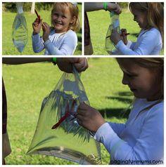 Leak Proof Bag Kid's Science Experiment
