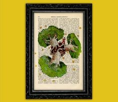 The Little Prince art Print on Dictionary Paper Vintage - Le Petit Prince Gift Nursery Dictionary Art  Book Exupéry Art baby gift (Nº10)