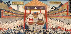 勧進大相撲土俵入之図 (1977×973)