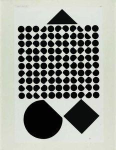 Album Cinétique Iii - (Victor Vasarely)