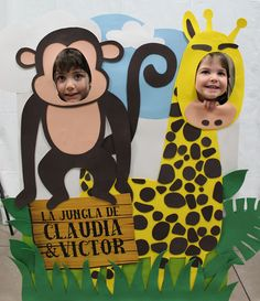 Cumpleaños infantil, organización de cumpleaños y fiestas temáticas. Cumpleaños de la jungla. Candy bar temática. Organización eventos. Cumpleaños diferente Safari Theme Birthday, Giraffe Birthday, Jungle Theme Parties, Wild One Birthday Party, Jungle Party, Safari Party, Animal Birthday, First Birthday Parties, Boy Birthday