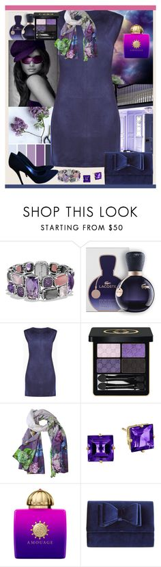 """""""Love is kind, We Shine Together!!"""" by nefertiti1373 ❤ liked on Polyvore featuring David Yurman, Lacoste, BCBGMAXAZRIA, Gucci, Designers Guild, AMOUAGE, INC International Concepts and Balmain"""