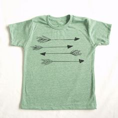 LIMITED EDITION Arrows Kids EcoTee in Heather Grey by eleventyfive
