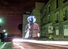 Paris Safari: Projected Wildlife Gets Chic in the City - Julien Nonnon