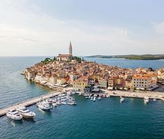 """""""Mi piace"""": 1,451, commenti: 9 - Rovinj Tourist Board (@lovelyrovinj) su Instagram: """"Whether you're admiring from afar or from the heart of the Old Town, Rovinj is simply stunning from…"""""""