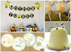 Honey Bee Baby Shower - BabaLlama.com