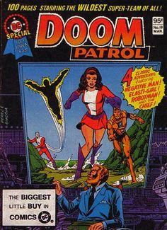 Robotman Doom Patrol | doom patrol # niles caulder # cliff steele # larry trainor