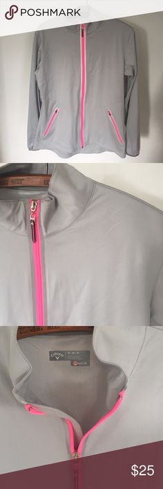 Callaway Mint condition! Reflective Golf jackets. Super thin and light weight. Flattering fit Callaway Jackets & Coats
