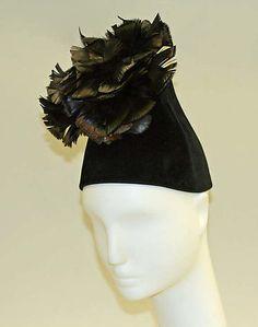 1940–47. All I can say is WOW!!! I'm in love with this hat!