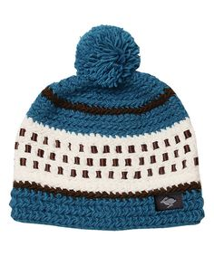 143104ba306ae6 Another great find on #zulily! Peter Grimm Hats Blue Ryzen Beanie by Peter  Grimm