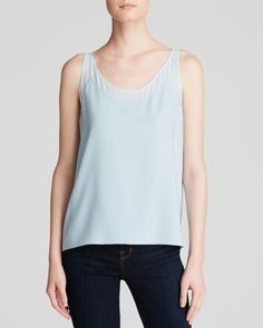 1 by O'2nd Moore Chiffon Patch Tank - Bloomingdale's Exclusive