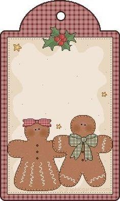 Etiquetas para regalos, tarros, postales etc... (pág. 2) | Aprender manualidades es facilisimo.com
