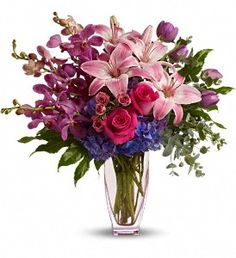 I would love to have this as my bouquet!!!  It is all purple goodness...