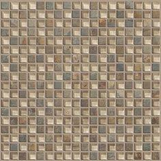 "Shaw Floors Stately 0.625"" x 0.625"" Slate Mosaic Tile in Bostwick"