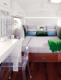 Autocaravana....dormitorio