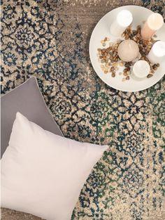 Teppich Liguria Grau ø 240 cm rund