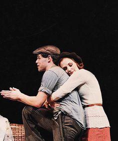 Bonnie & Clyde Jeremy Jordan and Laura Osnes
