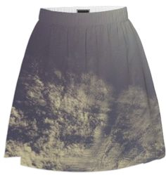 Wispy Clouds Skirt from Print All Over Me