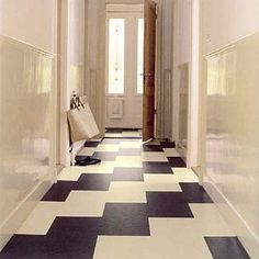 Marmoleum for our Kitchen floor- eco friendly and warm under your feet