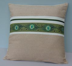 Peacock Pillows Fall Autumn Decor 18 x 18 by JacqueAnnDecor, $30.00